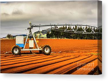 Agricultural Industry Canvas Prints