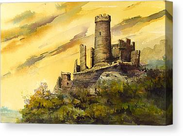 Castle Canvas Prints
