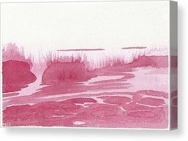 Alizarin Crimson Canvas Prints