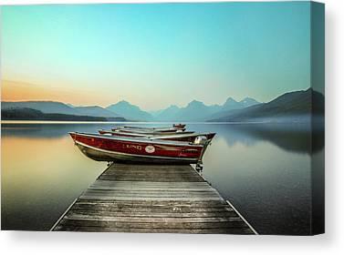 Lake Mcdonald Canvas Prints