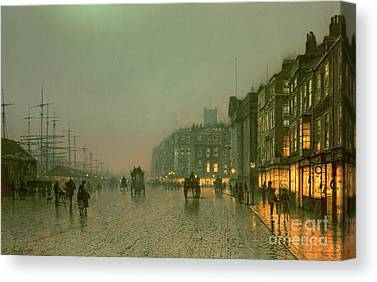 City Scenes Paintings Canvas Prints