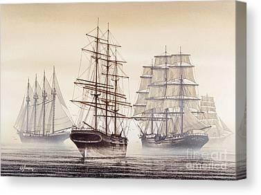 Tall Ship Image Canvas Prints