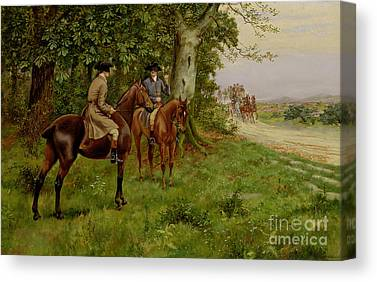 Carriage Road Canvas Prints