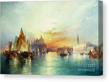 Water Scene Canvas Prints