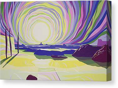 Whirling Paintings Canvas Prints