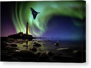 Avro Vulcan Canvas Prints