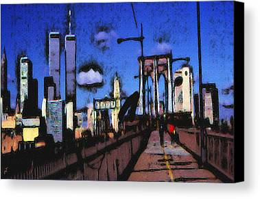 Manhattan Skyline Paintings Limited Time Promotions