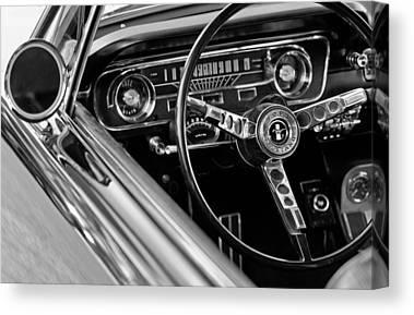 Steering Wheel Canvas Prints