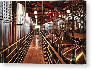Fermentation Canvas Prints