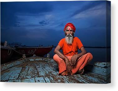 Ganges Canvas Prints