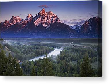 Snake River Canvas Prints