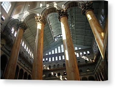 Corianthian Columns Canvas Prints