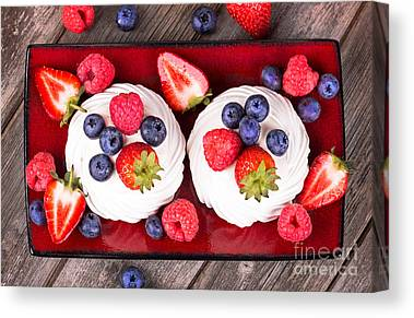 Wooden Platters Canvas Prints