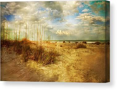 Saint Augustine Beach Canvas Prints