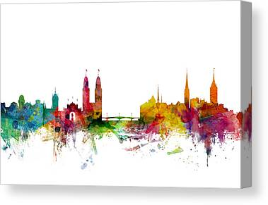 Zurich Canvas Prints