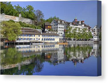 Zuerich Canvas Prints
