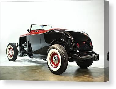 1932 Ford Digital Art Canvas Prints