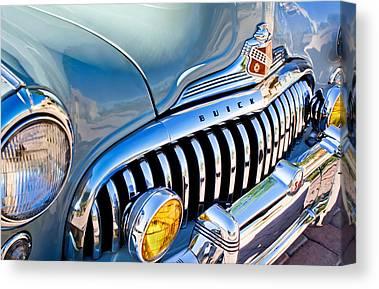 Buick Emblem Canvas Prints