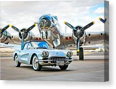1959 Chevrolet Canvas Prints