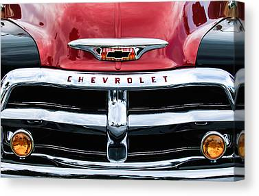 1955 Chevrolet Canvas Prints