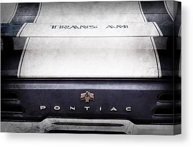 Pontiac Canvas Prints