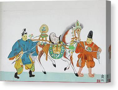 Nara Canvas Prints