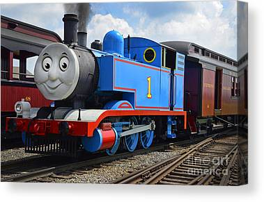Thomas The Train Canvas Prints