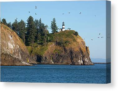 Cape Disappointment Canvas Prints