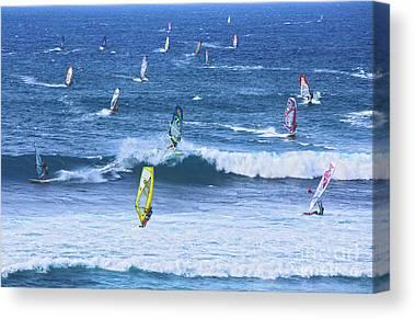 Windsurfer Canvas Prints