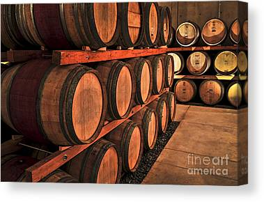 Wine Making Canvas Prints