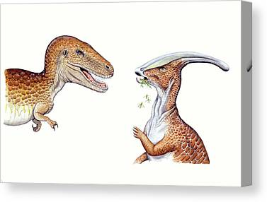 Albertosaurus Canvas Prints