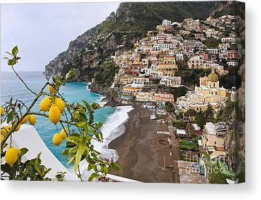 Unesco World Heritage Site Canvas Prints