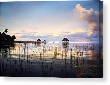 Hut Photographs Canvas Prints