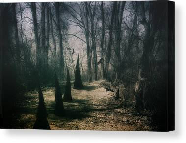 Frightening Photographs Canvas Prints
