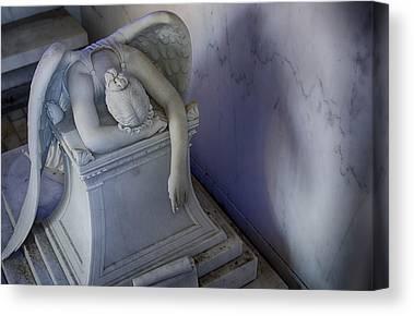 Metairie Cemetery Canvas Prints