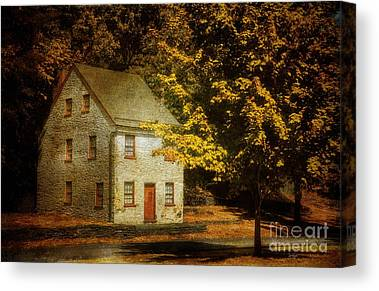 Historic House Canvas Prints