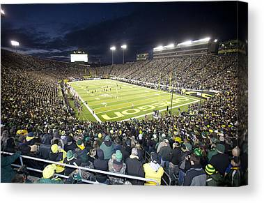 University Of Oregon Uo Canvas Prints