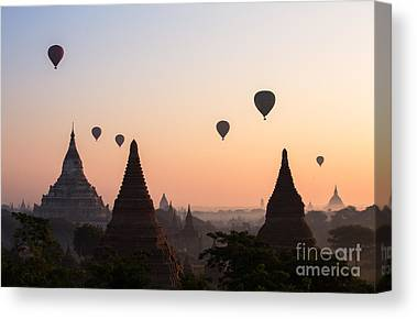 Myanmar Canvas Prints