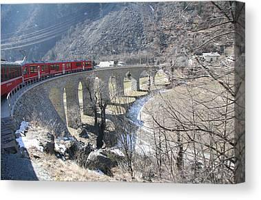 Rail Travelpics Canvas Prints