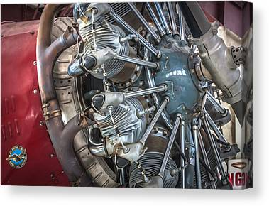 Ford Tri-motor Canvas Prints
