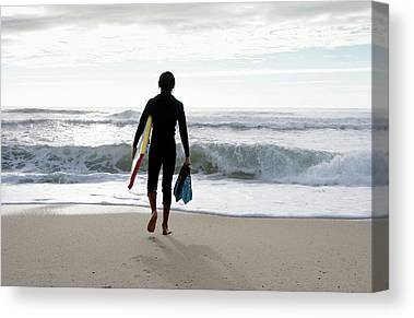 Bodyboard Photographs Canvas Prints