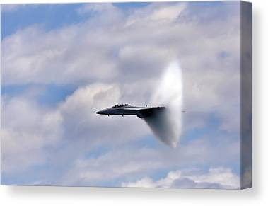 Supersonic Speed Canvas Prints