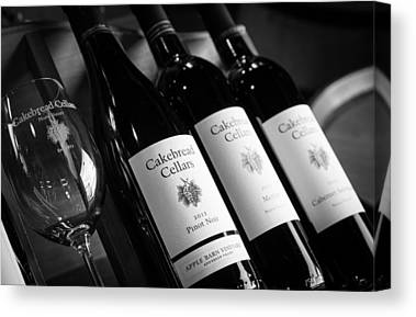 Cakebread Chardonnay Canvas Prints