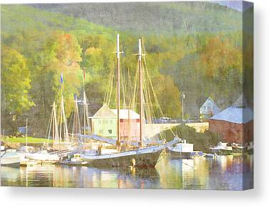 Penobscot Bay Canvas Prints