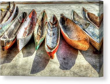Row Boat Canvas Prints