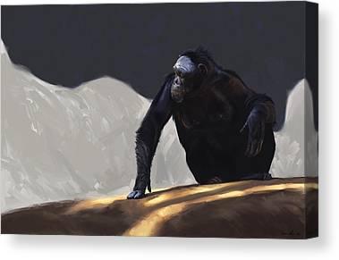 Primate Canvas Prints