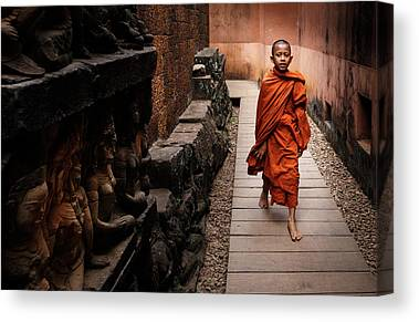 Angkor Canvas Prints