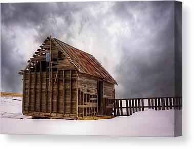 Snowpocalypse Canvas Prints