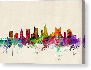 Columbus Canvas Prints