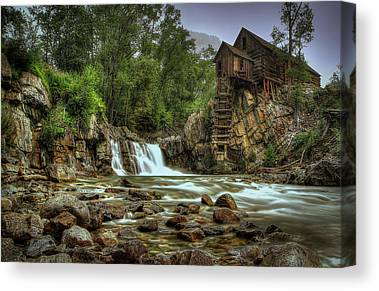 Crystal Colorado Canvas Prints